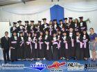 Fotos da colação de grau dos Cursos Técnicos em RH, Informática e Logística do Filinto Muller