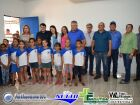 Veja as FOTOS da entrega da Sala de Tecnologia pelo prefeito Marquinhos do Dedé em Vicentina