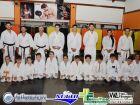 Veja FOTOS da troca de faixa Taiyo Kai de Karate do Sensei Tião na Limit Academia em Fátima do Sul