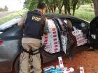 Veículos de luxo são apreendidos carregados com cigarros e maconha é apreendida pela PRF