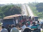 Caminhonaço: Comando Nacional do Transporte convoca caminhoneiros a