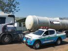 PMA apreende carreta com 49 mil litros de etanol e autua empresa paranaense em R$ 22 mil