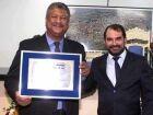 Vereador Ermeson entregou titulo de Cidadão Fatimassulense ao deputado estadual João Grandão
