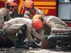 Jovem que pilotava moto com placa de Fátima do Sul se envolve em acidente em Nova Andradina