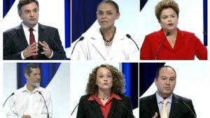 Acabou o debate do SBT. Leia os principais momentos do debate dos candidatos à Presidência
