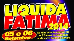 Vem aí o Liquida Fátima 2014, lojas queimarão estoques na sexta e sábado em Fátima do Sul
