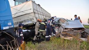 Ultrapassagem indevida causou acidente com 3 mortes entre Ivinhema e Nova Andradina