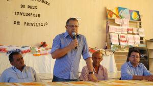 Prefeito Arison lança Programa Leite Forte em Jateí
