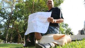 GLÓRIA DE DOURADOS: Ao perder a perna após acidente de trabalho ex-policial pede ajuda na governador
