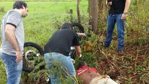 Morador em Vila Rica em Vicentina morre em acidente na MS-376 em Fátima do Sul