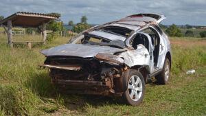Acidente deixa duas pessoas feriadas e uma morta entre Caarapó e Juti