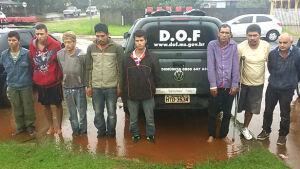 DOF, com apoio da DENARC do Paraná e da PRE, faz oito prisões e desarticula quadrilha