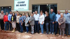 Prefeitura de Vicentina reforma Clube de Mães