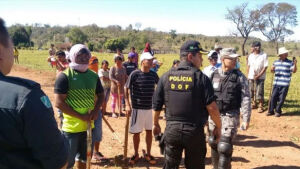 Índios anunciam '20 mil guerreiros' para conflito em Antônio João