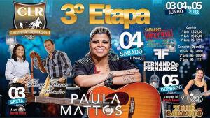 De vendedora de balas a revelação sertaneja, Paula Mattos estará no CLR em FÁTIMA DO SUL