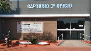 Cartório do 3º Ofício muda de endereço a partir de segunda-feira em FÁTIMA DO SUL