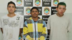Três são presos em tentativa de roubo frustrado pela Polícia em FÁTIMA DO SUL