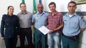 Presidente do Conselho Comunitário de Segurança solicitou reforço e viatura para a PM de DEODÁPOLIS