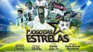 Ex-atletas profissionais e amadores estarão no jogo das estrelas nesta sexta-feira em FÁTIMA DO SUL