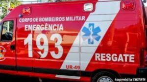 Motociclista é encontrado caído em via, recebe socorro, mas não resiste e morre em RIO BRILHANTE
