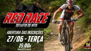 Fique atento, começa hoje as inscrições para o RED RACE 2017 que será realizado em Fátima do Sul
