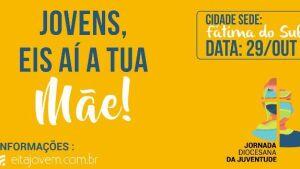 Abertas as inscrições para a Jornada Diocesana da Juventude em Fátima do Sul