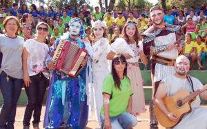 SCFV de Gloria de Dourados recebeu Grupo de Teatro da UFGD