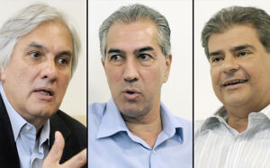 Delcídio lidera com 44%, Reinaldo cresce para 22% e Trad cai