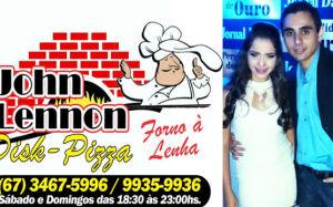 John Lennon Disk Pizza volta a atender aos sábados e domingo em Fátima do Sul