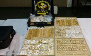 DOF apreende três quilos de ouro sem procedência na região de Caarapó