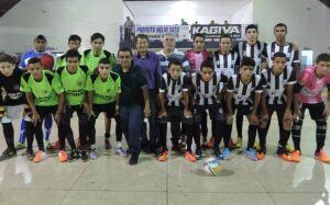 Prefeito abre Campeonato Amador de Futsal em comemoração aos 28 anos de VICENTINA