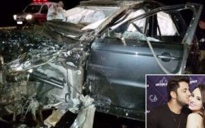 Carro de Cristiano Araújo estava a 179 km/h ao capotar, diz relatório da Land Rover
