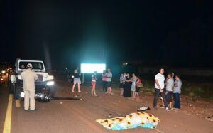 Motociclista invade contramão e morre ao colidir de frente com Jipe em Ponta Porã