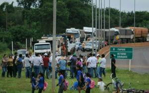 Indígenas prometem bloquear a MS-156,  rodovia que liga Itaporã a Dourados