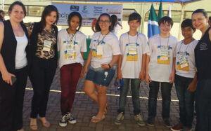 Alunos da Escola Vicente Pallotti de FÁTIMA DO SUL são credenciados para Feira de Tecnologia de MS