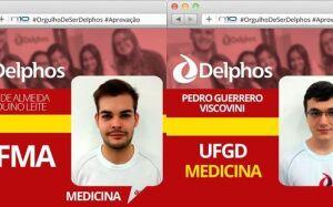 FATIMASSULENSE e um Douradense são mais dois destaques do Colégio Delphos em aprovação em MEDICINA