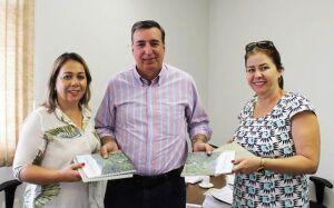 Vereadoras viabilizam junto ao IMASUL a reativação do viveiro de mudas em GLÓRIA DE DOURADOS
