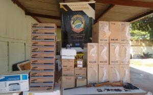 Polícia Civil de Ivinhema recupera computadores furtados de assentamento em Angélica