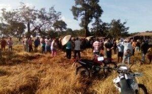 Grupo de 300 sem-terra invade fazenda de gado em Terenos