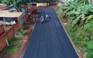 DOURADOS: Governo do Estado executa 20 novas frentes de asfalto em diversos bairros, VEJA