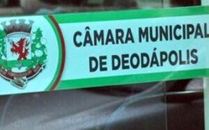 DEODÁPOLIS: Câmara convoca dois candidatos para assumir cargos de concurso, VEJA