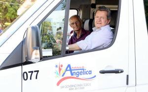Deputado Onevan de Matos entrega emendas parlamentares para a Saúde de Angélica
