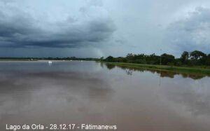Inmet alerta possibilidade de chuva e ventos intensos em Fátima do Sul e cidades do MS