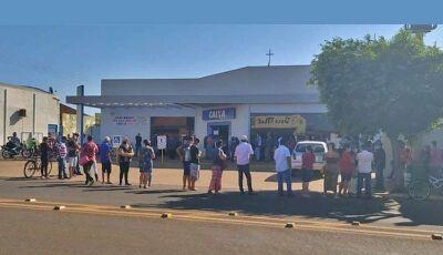 Caixa abre no sábado em Fátima do Sul e 38 agências em MS para saque do auxílio emergencial