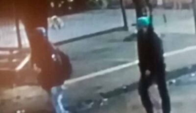 Vídeo: Câmera flagra ladrão roubando bolsa neste sábado, de dia, em Dourados