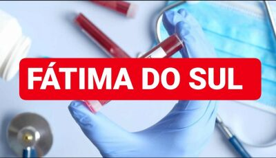 Com 97 casos suspeitos, 05 estão recuperados e 02 hospitalar, Veja o detalhamento em Fátima do Sul