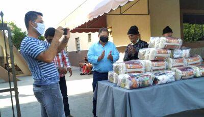 Governo do MS destina 15 cestas de alimentos para Lar dos Idosos de Fátima do Sul