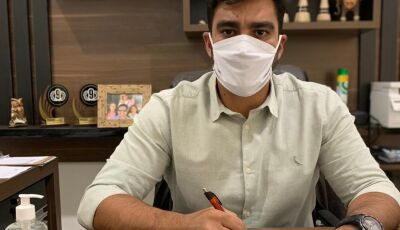 Diego pede distribuição de Kit Covid e que façam testes nos funcionários da JBS em Fátima do Sul