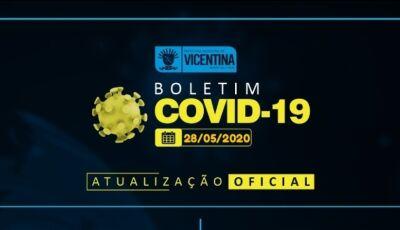 Vicentina sobe mais 04 casos confirmados, todos funcionários JBS e chega a 22, Confira o Boletim