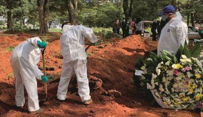 Brasil aproxima de 26 mil mortes por covid 19